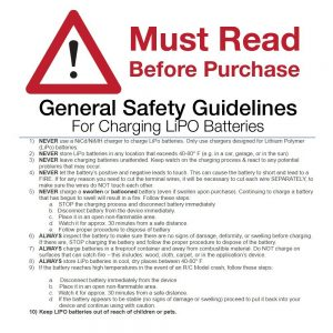 Vape battery general safety guidelines in the UK